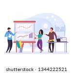 business people characters... | Shutterstock .eps vector #1344222521