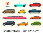 big set of different models of... | Shutterstock .eps vector #1344244694