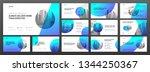 powerpoint presentation... | Shutterstock .eps vector #1344250367