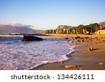 st james beach with its... | Shutterstock . vector #134426111