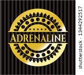 adrenaline gold emblem   Shutterstock .eps vector #1344292517