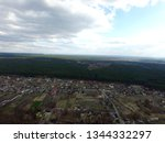 aerial view of the saburb... | Shutterstock . vector #1344332297