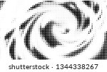 halftone gradient pattern.... | Shutterstock .eps vector #1344338267