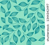 packaging tea leaves organic... | Shutterstock .eps vector #1344342497