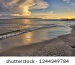 Salthill Beach At Dusk ...
