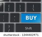 computer keyboard with buy...   Shutterstock . vector #1344402971