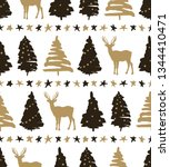 holiday pattern depicting the... | Shutterstock .eps vector #1344410471