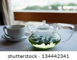 mint tea | Shutterstock . vector #134442341