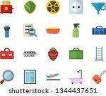 color flat icon set window flat ...   Shutterstock .eps vector #1344437651