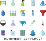 color flat icon set cauldron...   Shutterstock .eps vector #1344439727