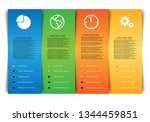 vector web infographic with...