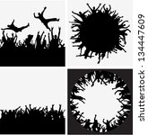 party people vector backgrounds