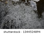 isolated waterfall in tropics | Shutterstock . vector #1344524894