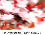 abstract blur light background. ... | Shutterstock .eps vector #1344530177