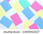 multicolor cards to memorize. | Shutterstock . vector #1344542327