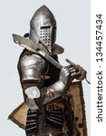 Image Of Knight Who Is Posing...
