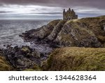 Dunskey Castle Situated On...