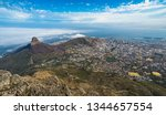 panoramic view of cape town ... | Shutterstock . vector #1344657554