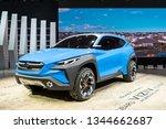 geneva  switzerland  march 9 ...   Shutterstock . vector #1344662687