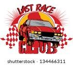last race | Shutterstock .eps vector #134466311