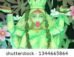 kali  also known as k lik  or...   Shutterstock . vector #1344665864