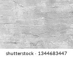 gray stucco wall texture.... | Shutterstock . vector #1344683447