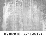 gray stucco wall texture.... | Shutterstock . vector #1344683591
