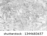 gray stucco wall texture.... | Shutterstock . vector #1344683657