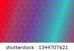 modern stylish texture....   Shutterstock .eps vector #1344707621