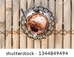 top view of marocchino is... | Shutterstock . vector #1344849494