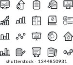 bold stroke vector icon set  ... | Shutterstock .eps vector #1344850931