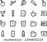 bold stroke vector icon set  ... | Shutterstock .eps vector #1344853214