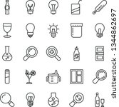 thin line vector icon set  ...   Shutterstock .eps vector #1344862697