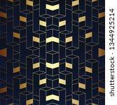 vector modern geometric tiles... | Shutterstock .eps vector #1344925214