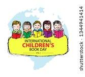 international children's book... | Shutterstock .eps vector #1344941414