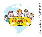 international children's book... | Shutterstock .eps vector #1344941417
