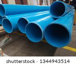 blue pvc  pipes  for drinking... | Shutterstock . vector #1344943514