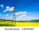 Electrical Tower On A...