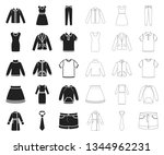 different kinds of clothes...   Shutterstock .eps vector #1344962231