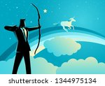 business concept illustration... | Shutterstock .eps vector #1344975134