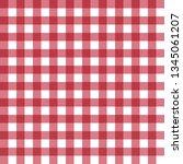 vector table cloth texture | Shutterstock .eps vector #1345061207
