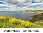 view from the south west coast... | Shutterstock . vector #1345078007