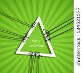 merry christmas  eps10   Shutterstock .eps vector #134521577