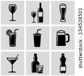 beverages | Shutterstock .eps vector #134528501