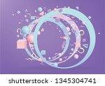 3d figures realistic vector...   Shutterstock .eps vector #1345304741