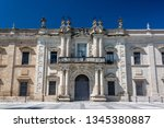 old historic law school... | Shutterstock . vector #1345380887