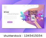 qr code vector illustration...