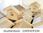 Wooden Houses For Birds....