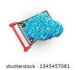big data and cloud computing... | Shutterstock . vector #1345457081