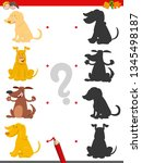cartoon illustration of find... | Shutterstock .eps vector #1345498187